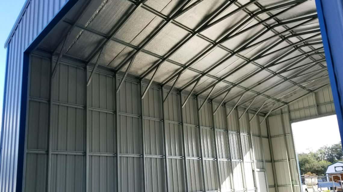 Dive-Through Metal Building  Bushnell, FL